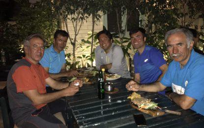 بازگشت تیم خراسان، صعود کننده به قله ماناسلو