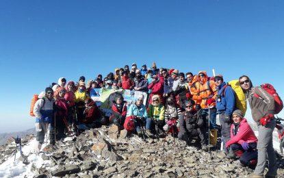 گزارش صعود به قله قوچگر