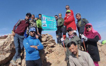 گزارش صعود به قله نایبند(طرح سیمرغ)