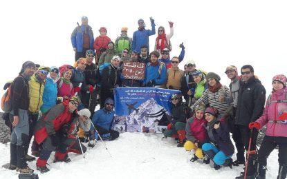 گزارش صعود قله فلسکه و خط الراس قله فلسکه تا قله چمن یک