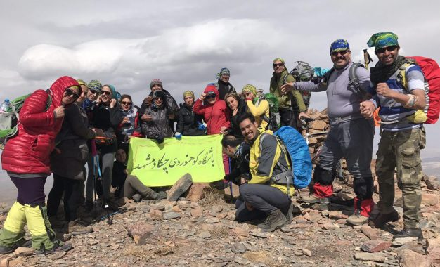گزارش برنامه زیست محیطی باشگاه چکاد در مسیر صعود به خط الراس مغان به پیوه ژن