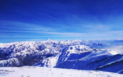 صعود زمستانۀ قله توچال
