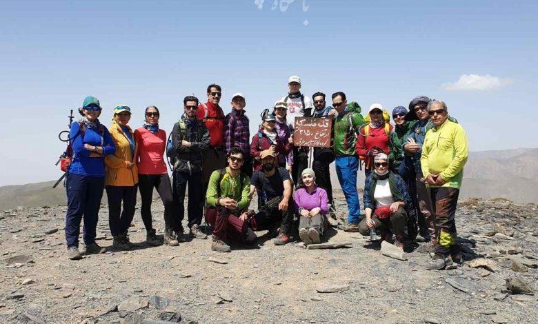 صعود قله فلسکه