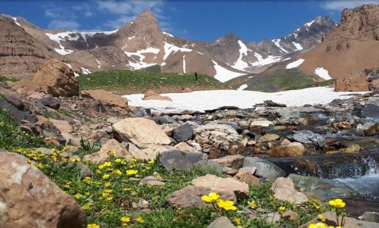 علم کوه